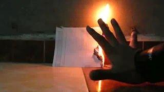 نسر الكونغ فو يحرق الورقة بالطاقة الداخلية ـ اياك تصدق !
