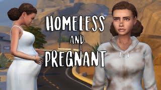 HOMELESS & PREGNANT | Sims 4 High School Story