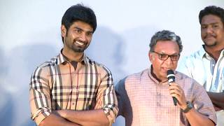 Naseer Heart Touching speech about Atharvaa Struggle in Gemini Ganesanum SuruliRaajanum Audio Launch