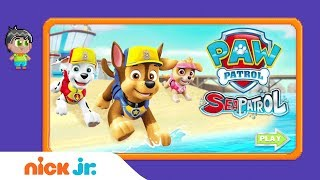 PAW Patrol: 'Sea Patrol' Game Walkthrough 🐾  | Nick Jr. Gamers