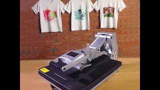 New arrival 3D Hydraulic heat press machine ST-4050 For T-shirts