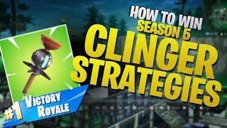 HOW TO WIN | Season 5 Clinger Strategies (Fortnite Battle Royale)