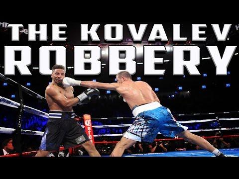 Ward vs Kovalev The Robbery Highlight