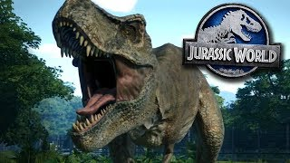 Jurassic World Evolution Trailer! - In Game Footage FIRST LOOK! PS4/Xbox One/PC