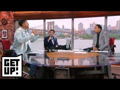Stephen A. Jalen Rose get into heated debate over Barkley's super teams comments Get Up ESPN
