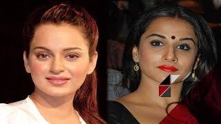 Supporting Kangana Ranaut Has Caused A PROBLEM For Vidya Balan |  Bollywood News