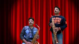 Mujhe Chhu Rahi hai |  Playing 2 Saxophone (Alto & Soprano)| Suhel Khilji