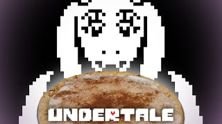 Making Toriel's Butterscotch Cinnamon Pie from Undertale