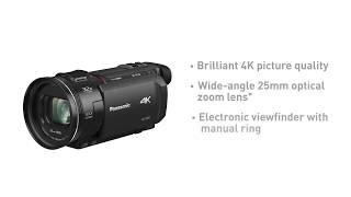 4K Ultra HD Camcorder HC-VXF1 | Panasonic