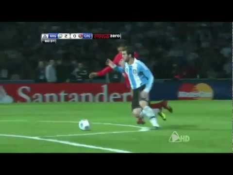 Argentina Vs Costa Rica 3 0 All Goals & Match Highlights July 11 2011 Copa America HQ