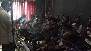 Strings Recording  Tiger Zinda Hai  Meghdeep Bose Vishalshekhar Cochin Strings