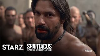 Spartacus: War of the Damned | Episode 5 Clip: Done With Words | STARZ