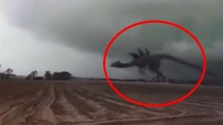 5 Extraños y aterradores sucesos grabados en video(resubido)