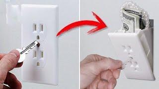 7 أفكار رائعة لإخفاء النقود فى منزلك