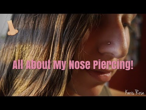Xxx Mp4 MY NOSE PIERCING EXPERIENCE Cleaning Pros And Cons Price Healing Etc 3gp Sex