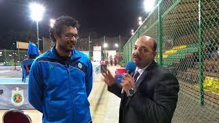 محمد ناجي (ميتو) بطل العالم بطولة الصيد المفتوحة لكرة السرعة مع حسام جبر