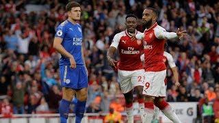 Arsenal v. Leicester City | PREMIER LEAGUE MATCH HIGHLIGHTS | NBC Sports
