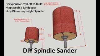 DIY Spindle Sander