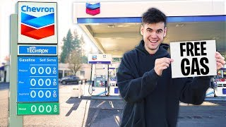 I Opened A FREE Gas Station