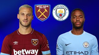 FIFA 19 WEST HAM VS MANCHESTER CITY PREMIER LEAGUE