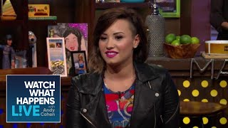 Demi Lovato Opens Up About 'Getting Wasted All The Time' As A Teenager | #FBF | WWHL