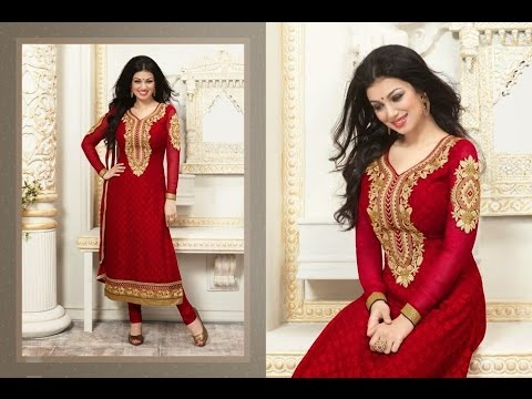 Latest New Karachi Works Dress Salwar Kameez Suits Chudidar Designs Patterns