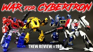 WFC Party! Optimus Prime, Bumblebee, Megatron, Soundwave: Thew's Awesome Transformers Reviews #198