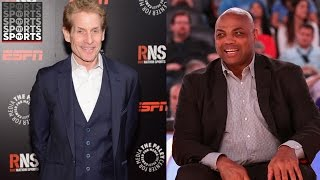 Charles Barkley's Dying Wish Is To Kill Skip Bayless on Live TV