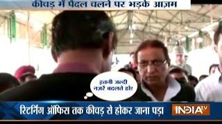 Viral: Azam Khan Caught On Camera Misbehaving with Returning Officer