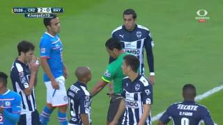 Cruz Azul 4-0 Monterrey J8 Clausura 2016