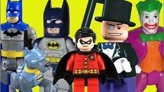 Lego Batman: O Filme DC Robin Batdog Coringa Joker Pinguim Brinquedos Menino Toys kids Imaginext