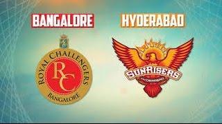 Ipl 2017 Royal Challengers Bangalore Vs Sunrisers Hyderabad Full Match Highlights (DBC17)
