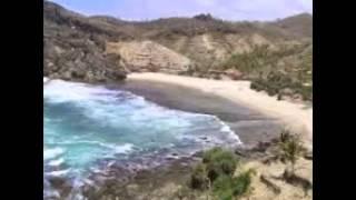 Parangtritis beach is a paradise beach
