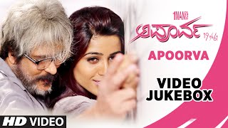Apoorva Songs | Apoorva Kannada  Video Jukebox | V.Ravichandran,Apoorva