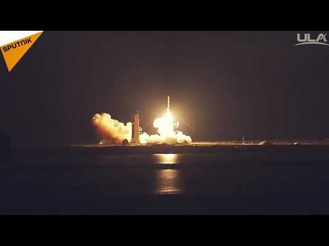 WGS 9 Rocket Launch