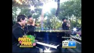 Backstreet Boys - Incomplete - GMA 31/08/2012