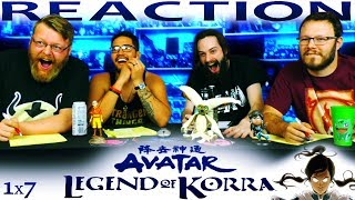 Legend of Korra 1x7 REACTION!!