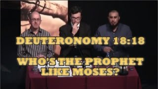 "Pastor HAS NO ANSWER to Deuteronomy 18 ""Prophet like Moses"" Prophecy! Zakir Hussain v Richard Lucas"