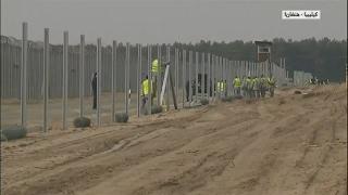 المجر تبني جدارها الثاني على الحدود مع صربيا