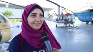 لقاءات مع أعضاء النادي أثناء زيارة متحف القوات الجوية