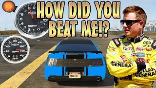 RACE CAR TROLLING WITH VOICE CHANGER! (GTA 5 MODS)