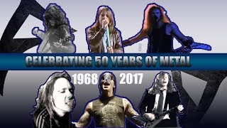 The #1 Biggest heavy  METAL Hits Of Each Year [ 1968 - 2017 ]