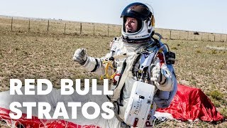 Red Bull Stratos - World Record Freefall