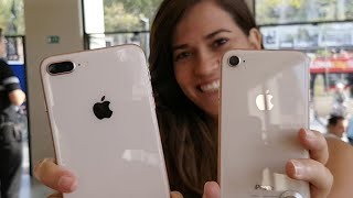 Probando el iPhone 8 y 8 Plus!!