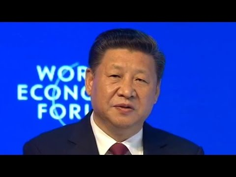Chinese President Xi Jinping delivers keynote