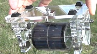 Free Energy Magnet Motor ( free electricity, no water energy, no wind, no battery )  | WasabySajado