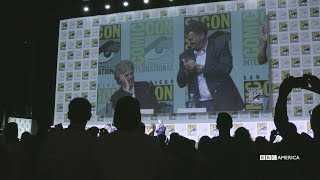 Peter Capaldi Takes a Bow | SDCC 2017 | Doctor Who