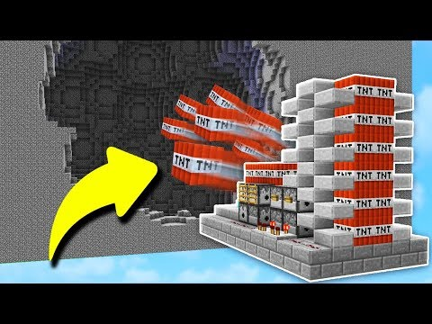OVERPOWERED CANNON DESTRUCTION Minecraft TNT WARS