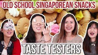 OLD SCHOOL SINGAPOREAN SNACKS | Taste Testers | EP 4