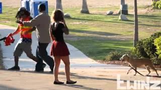 Blowing Up Girls Skirt in thongs Prank!!!   YouTube 2